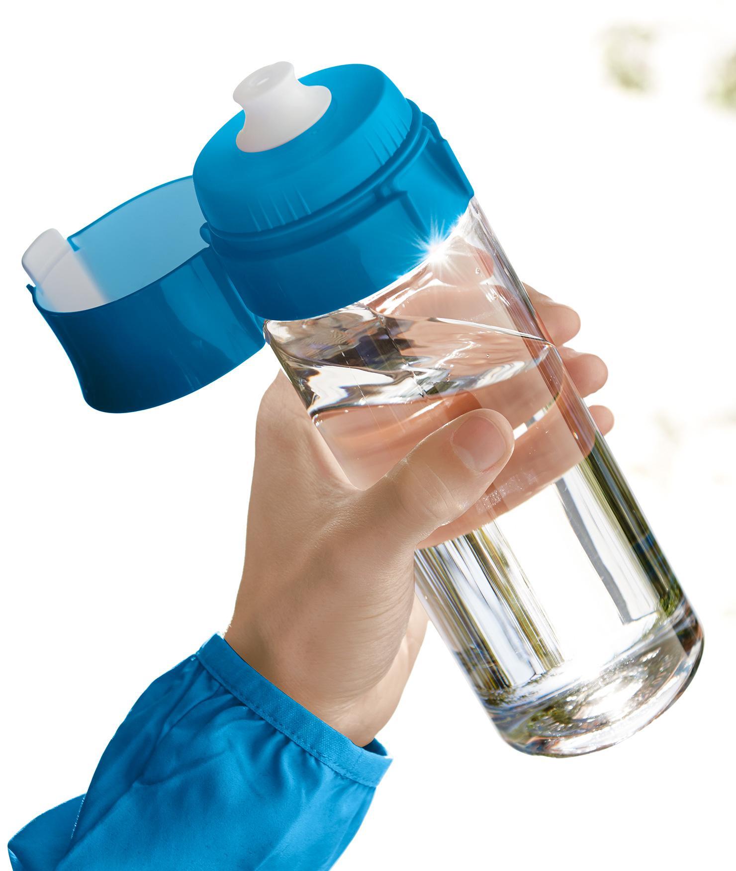 BRITA fill&go Vital blue: Park Mann Sport Flasche