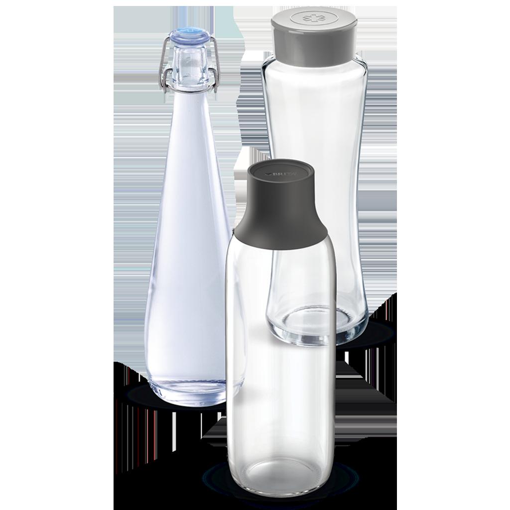 BRITA Spender Wave, Twist & Swing Flaschen Auswahl